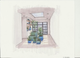 Plant Display drawing